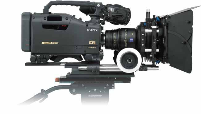 Manuales: Cámara HDW-F900R de Sony